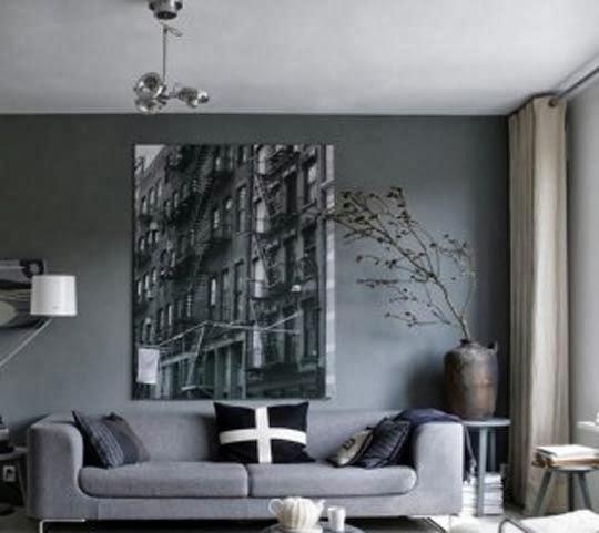 50 tons de cinza decoração