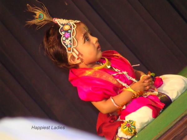 Baby in Krishna Avavtar