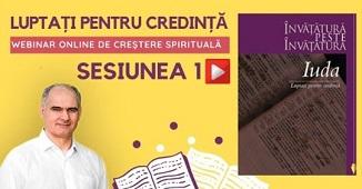 Moldova Creștină TV 🔴 Webinar: Luptați pentru credință. Sesiunile 1 și 2