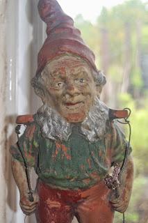 Finding a gnome in the attic.