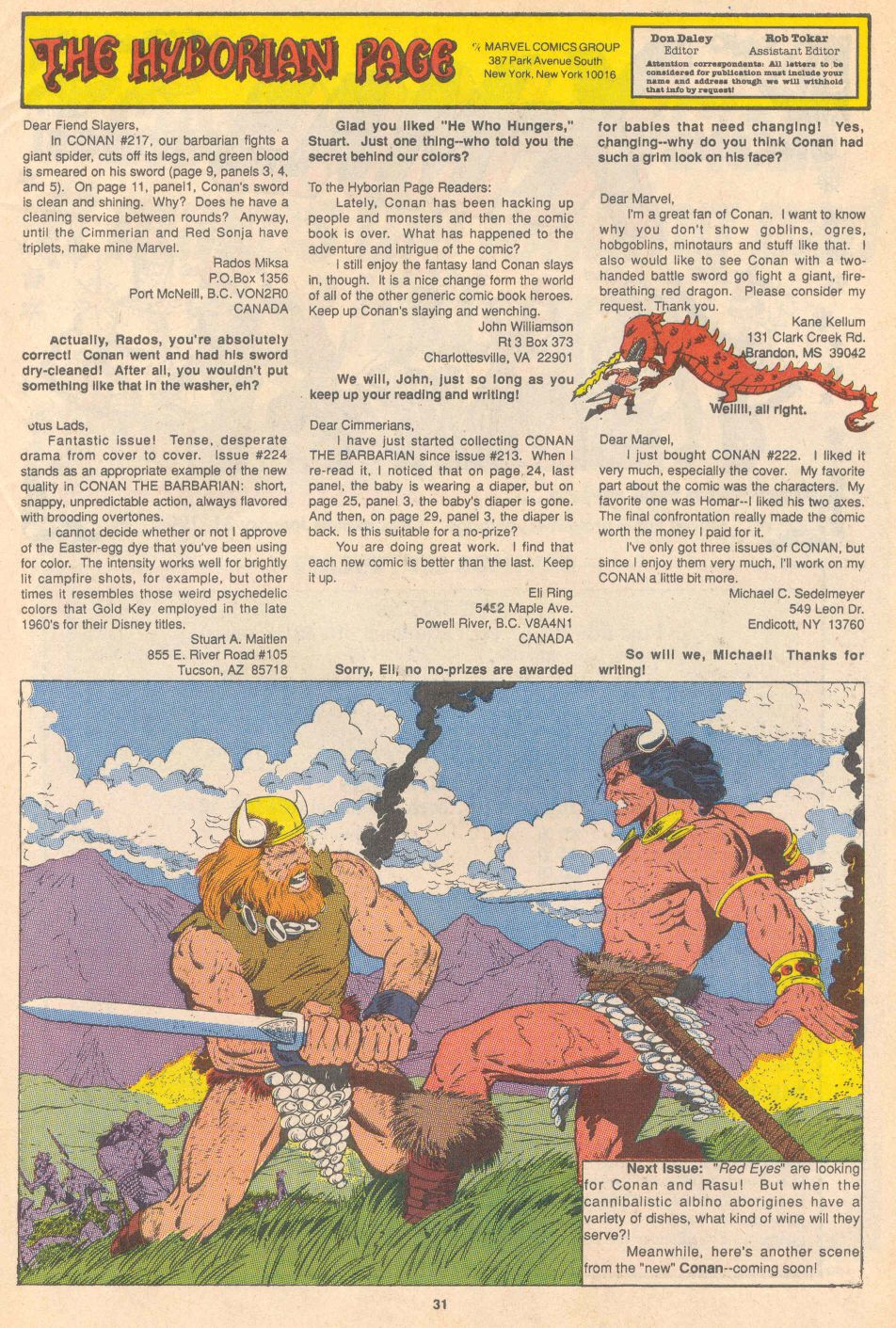 Conan the Barbarian (1970) Issue #228 #240 - English 25