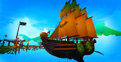 Pirate101 Halloween Ship