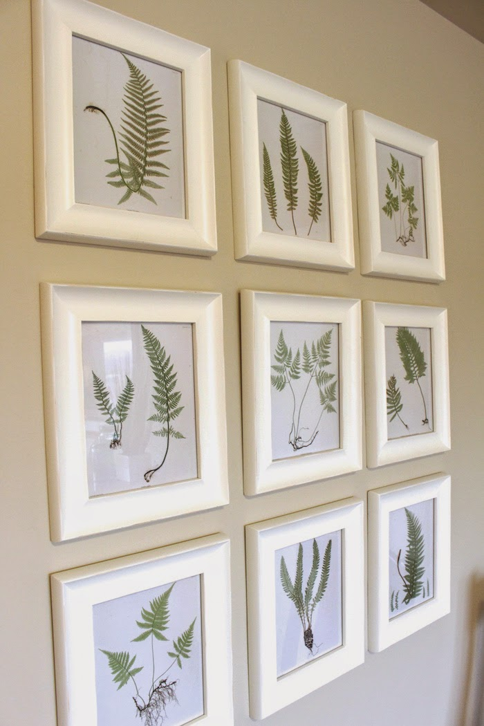 It\'s A Grandville Life : Gallery Wall: Free Fern Printables