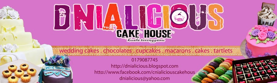D&#39;nialicious | Homemade Cakes, Cupcake, Chocolate @ Kuala Terengganu, Terengganu