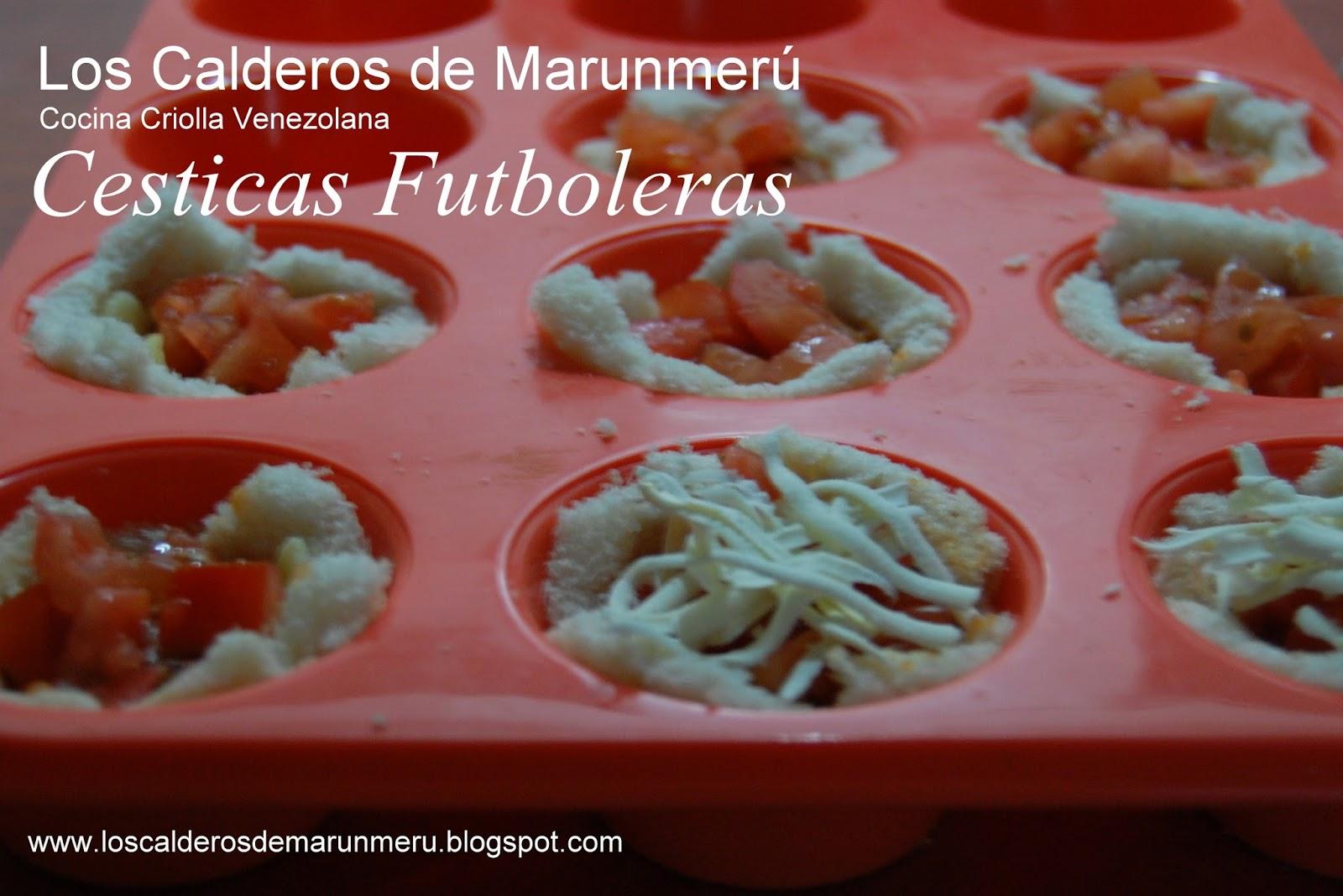 Recetas de cocina para ver el Mundial de Fútbol 2014 Calderos Marunmeru Comida venezolana