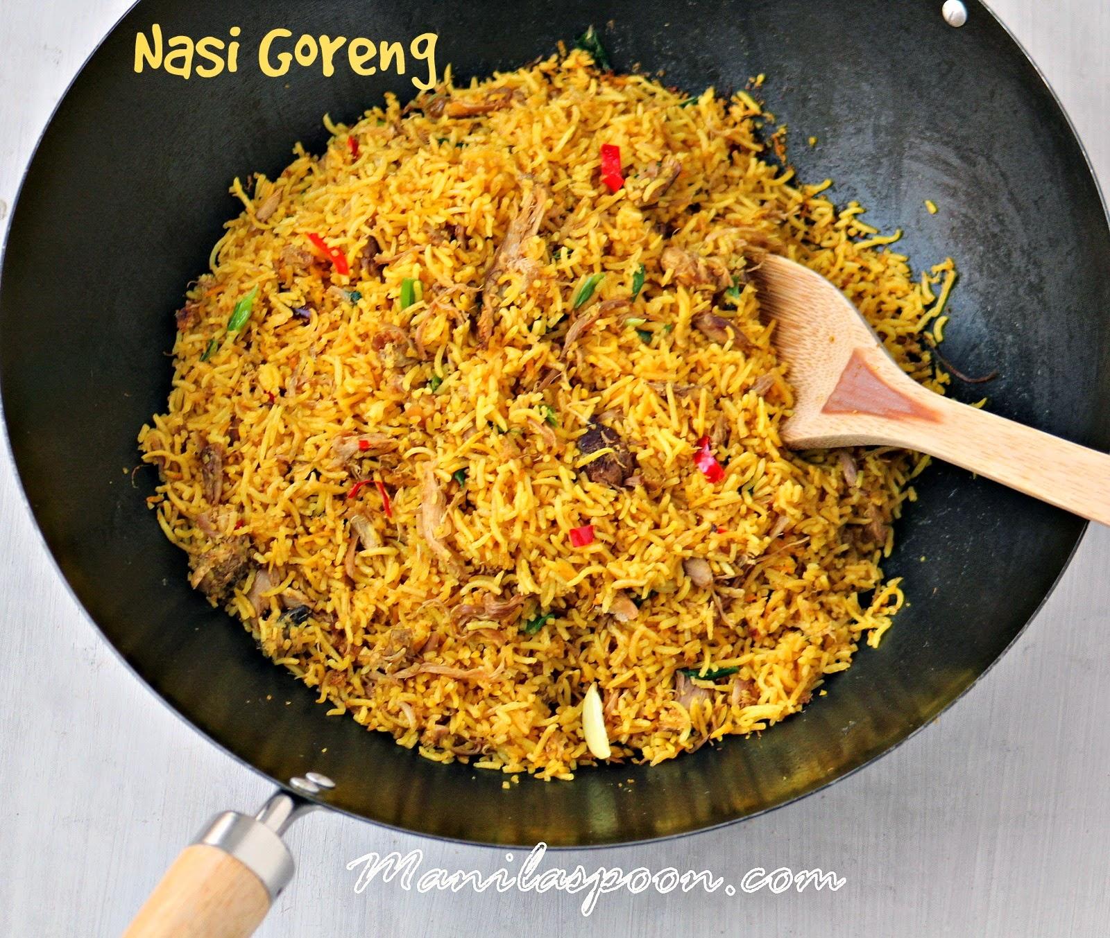 Nasi Goreng (Indonesian-style Fried Rice) | Manila Spoon