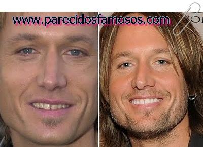 Keith Urban  antes y después