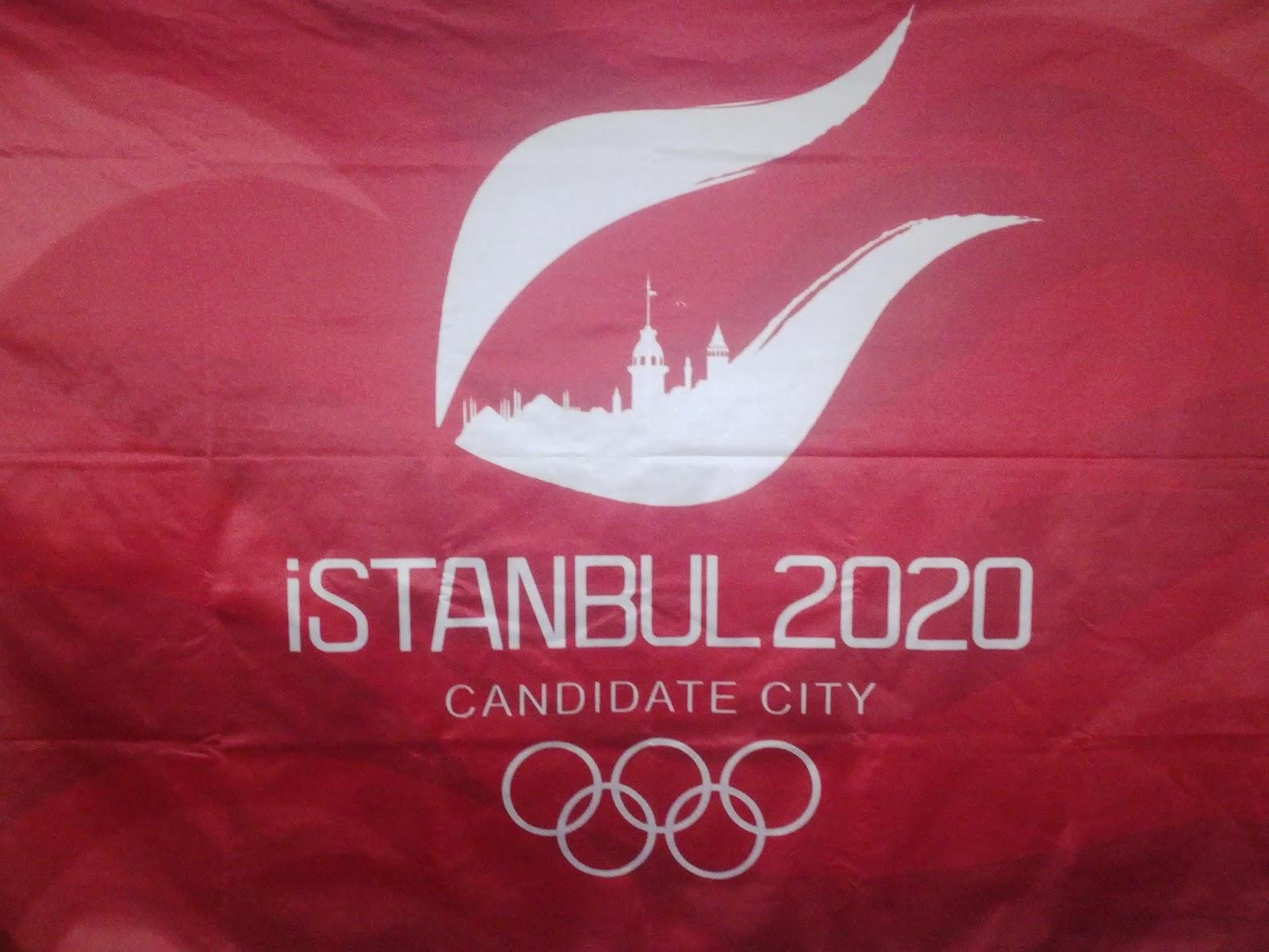 İstanbul 2020 Yaz Olimiyatları Logosu