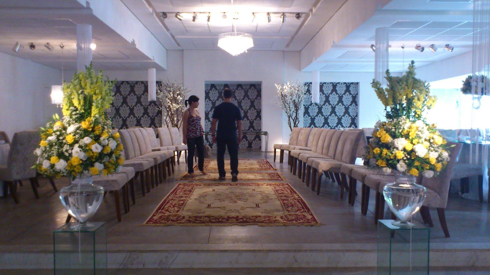 de decoração, logo as noivas tem muiiitas possibilidades para