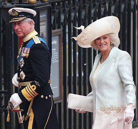 принц Чарлз, дук на Уелс и съпругата му Камила, дукеса на Кронуел