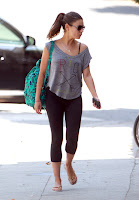 Mila Kunis Heading to Her Gym