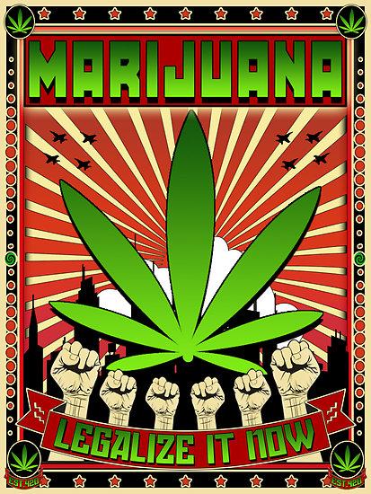 The legalization of marijuana?