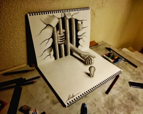 10-NAGAI-HIDEYUKI-Hide-永井-秀幸-3D-Pencil-Drawings-www-designstack-co
