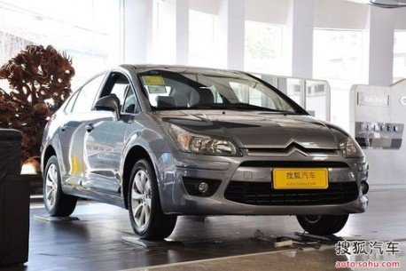 2014 New Citroen C4 showed up in China