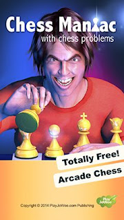 Screenshots of the Chess maniac for Android tablet, phone.