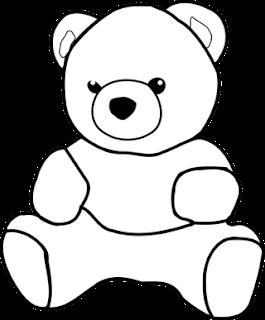 Mewarnai Gambar Teddy Bear Free Download Blog Mewarnai
