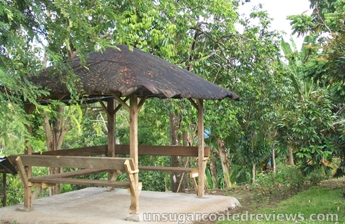 hut at the Partoza Durian Farm
