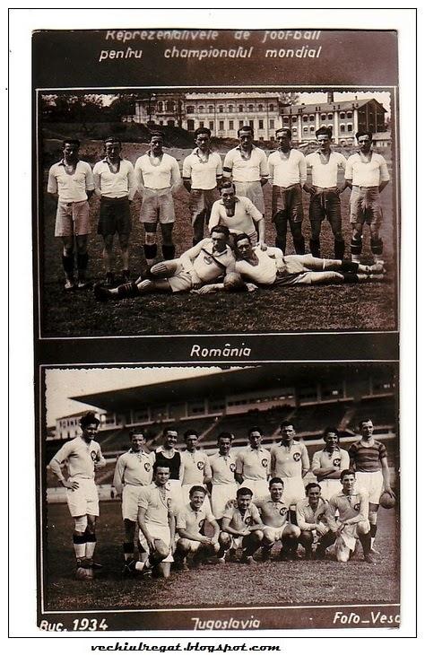 Un meci de legenda: Romania - Iugoslavia 1934