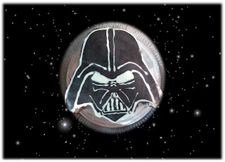 Darth Vader de chocolate