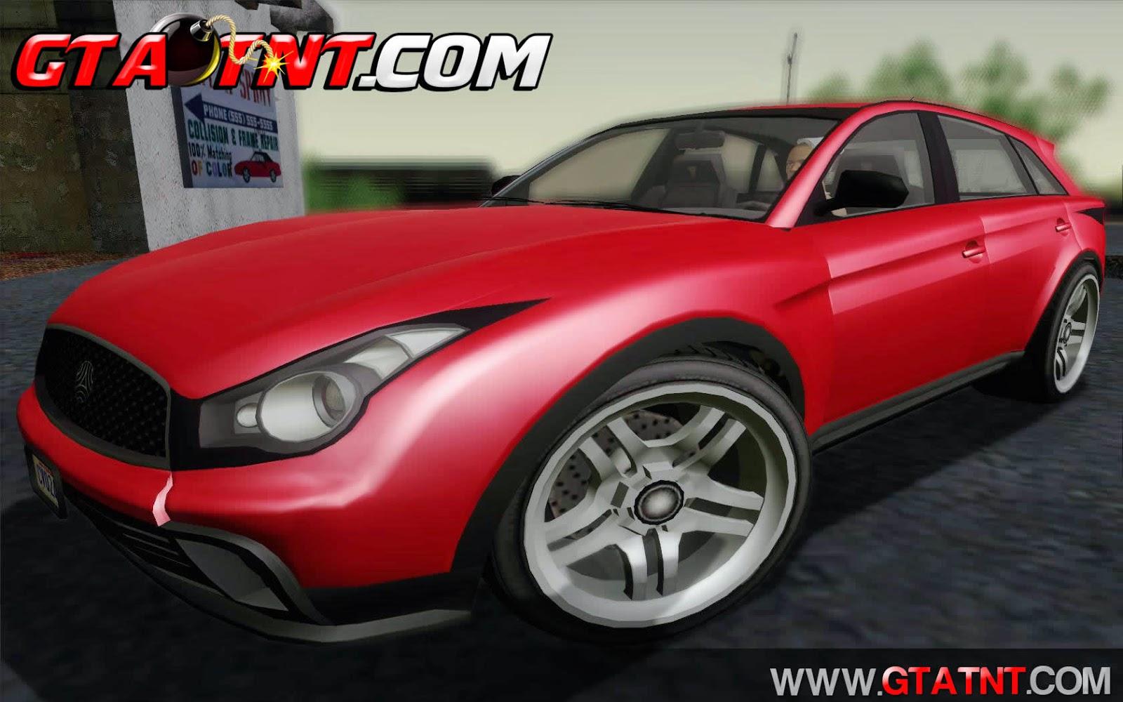 Fathom FQ2 Convertido do GTA V para GTA San Andreas