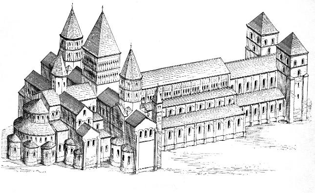 Glastonbury y su Abadia Maqueta+abadia