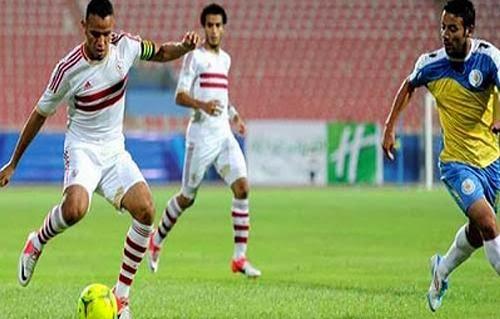 موعد وتوقيت مشاهدة مباراة المصرى ووادى دجلة اليوم الخميس 2/1/2014