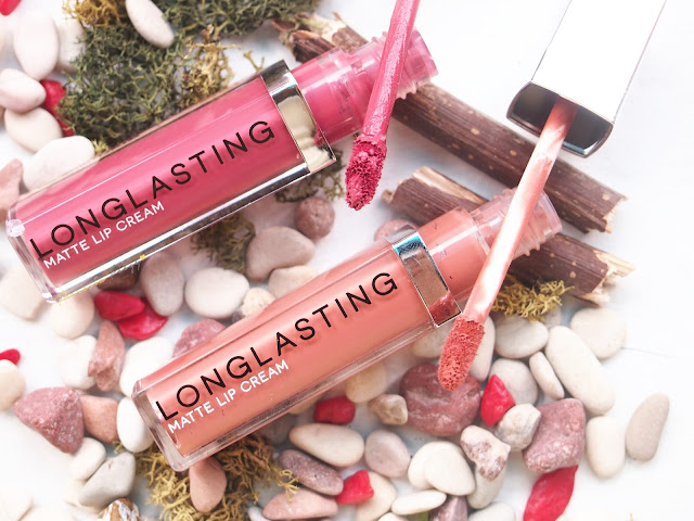 lt pro long lasting matte lip cream in 03 and 04, a local brand lip cream that last long on lips, non transferable and dry quickly. With a cheap price and a good quality that is similar to high end brands, it is one of the local brand best product.
