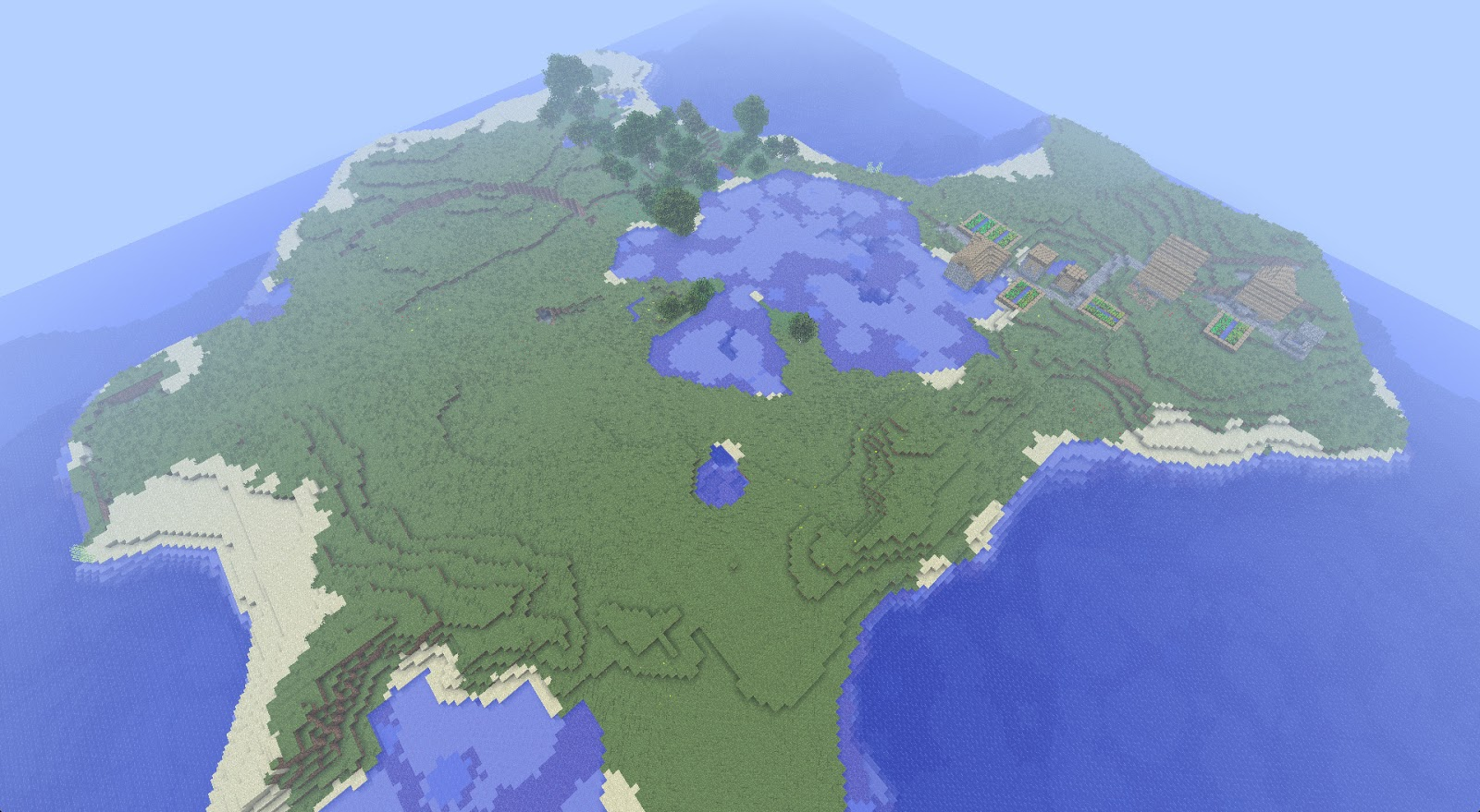 Minecraft Seeds Sharing The Best Minecraft Seeds March 2013