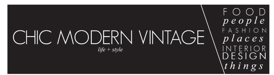 chic modern vintage