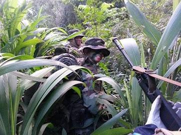 Ejército Argentino Patrulla de Monte
