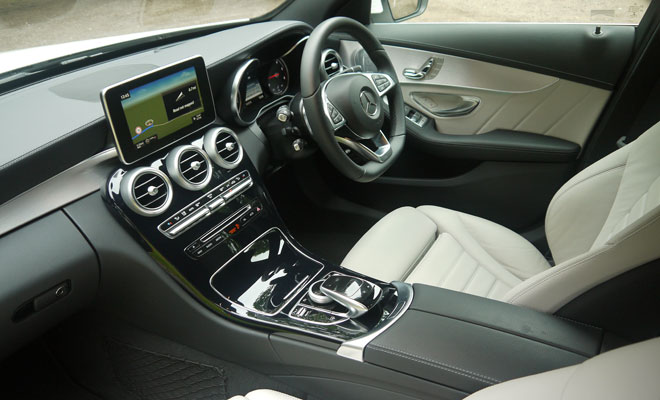 Mercedes-Benz C220 AMG Line interior