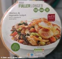 Fuller Longer M&S Chicken & Vegetable hot pot