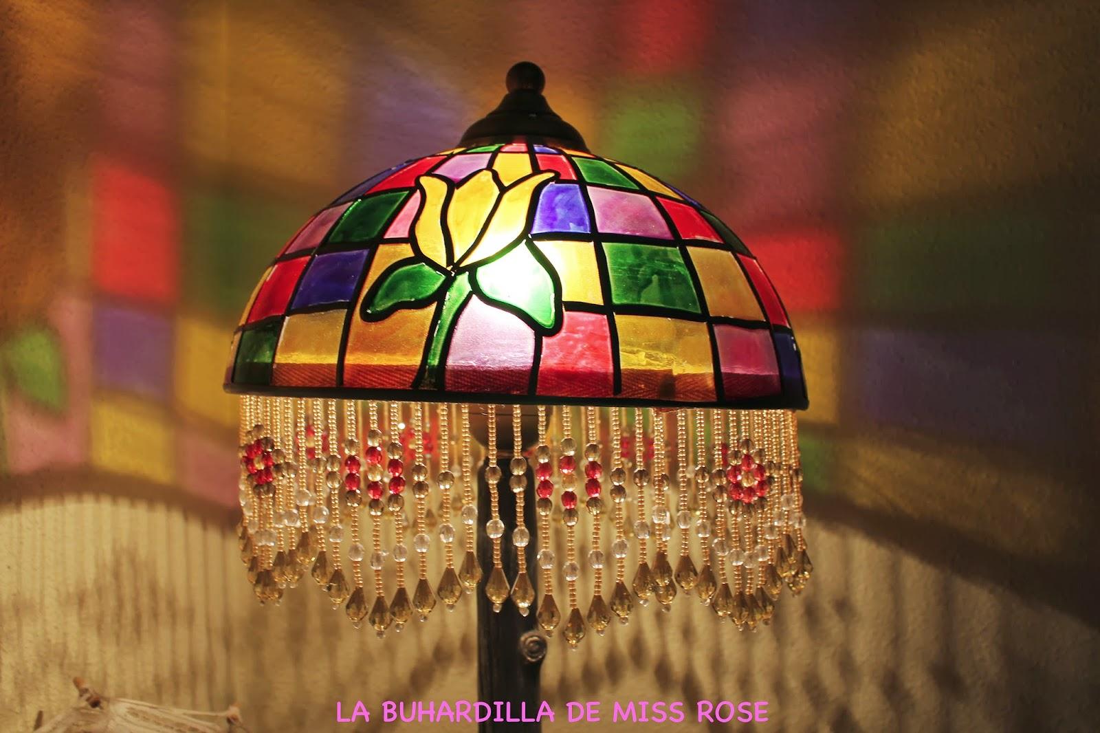 La buhardilla de miss rose lamparas estilo tiffani 39 s for Lamparas para buhardillas