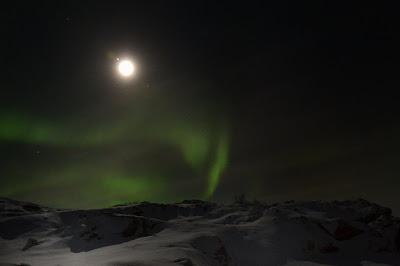 Aurora boreale Tromsø Norvegia