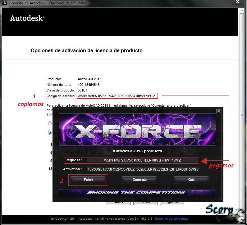 autocad 2013 xforce keygen x64