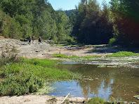 El riu Calders a la zona de la Quintana de Comelles