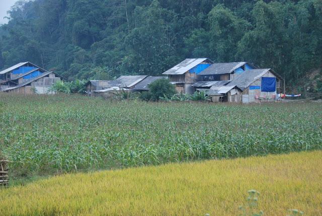 Lac Ba Be, village de Pac Ngoi - Photo Logan Bui