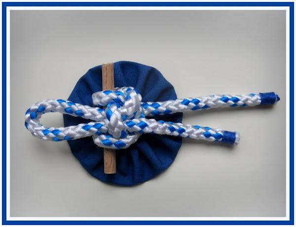 Como hacer nudos marineros aprender manualidades es - Nudos marineros decorativos ...