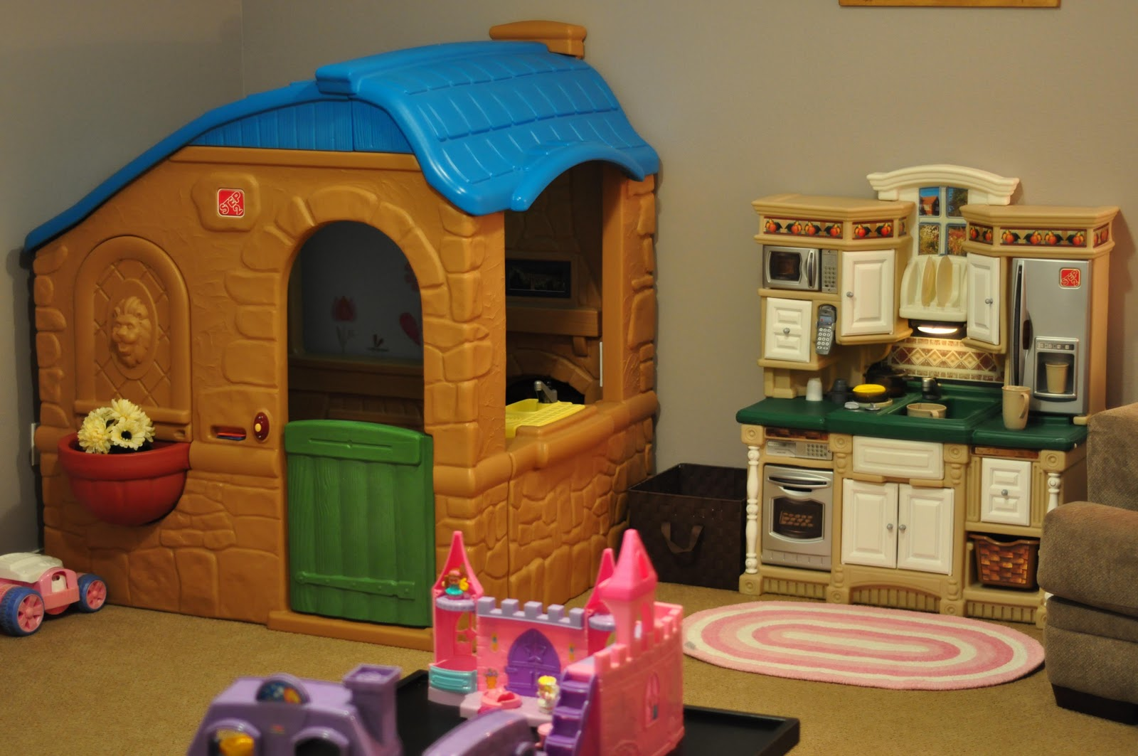 The Playhouse Is Step2 Countryside Cottage Kitchen Lifestyle Dream