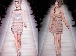 modelos de vestidos com babados