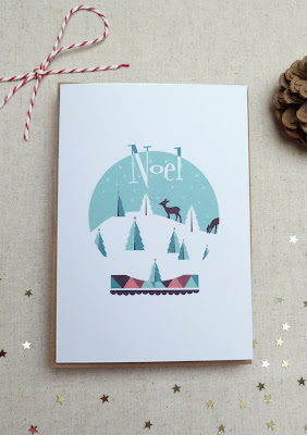 http://folksy.com/items/5016982-Pack-of-10-Christmas-cards