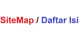 cara membuat sitemap di blogspot dengan mudah