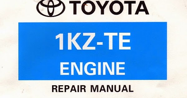 Tips De Mecanica En General  Manual Motor Toyota 1kz