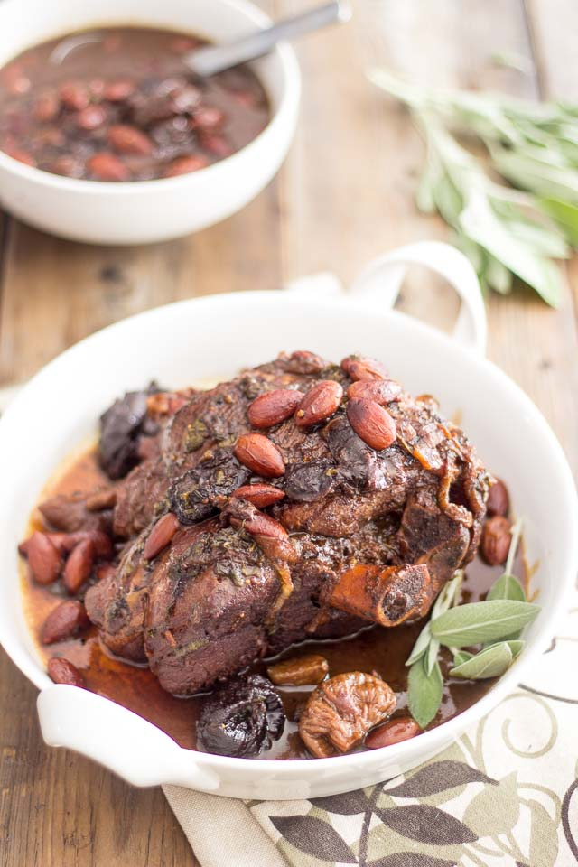 Not so Suze Homemaker: Braised Leg of Lamb with Dried Prunes and ...