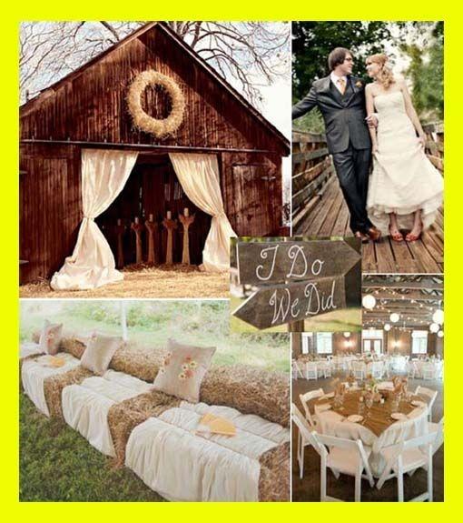 Cute Country Weddings