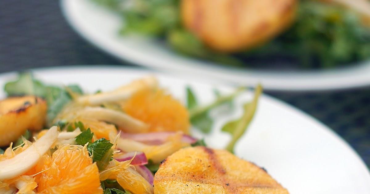 The Passionate Parsley: Polenta & Orange Salad With Fennel ...