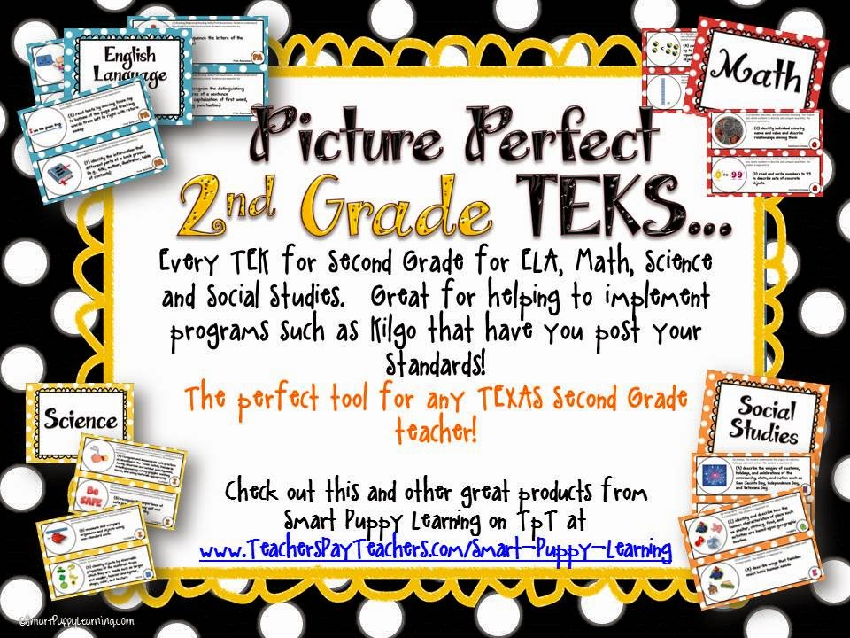 http://www.teacherspayteachers.com/Product/2nd-Grade-TEKS-Illustrated-and-Organized-820126