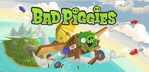 Screen Shot Of Bad Piggies (2012) Full PC Game Free Download At Downloadingzoo.Com