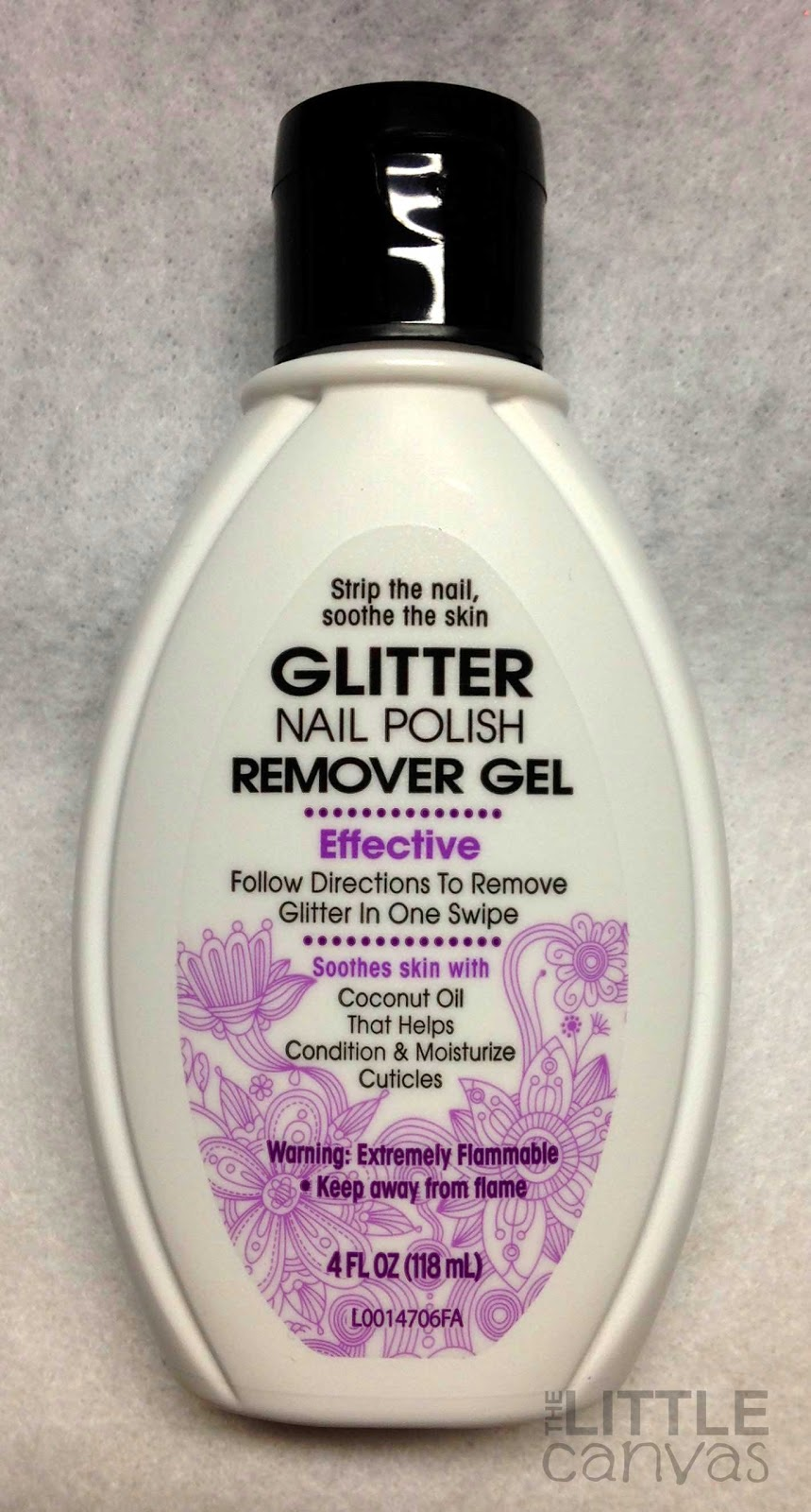Glitter Nail Polish Remover Gel Review - The Little Canvas