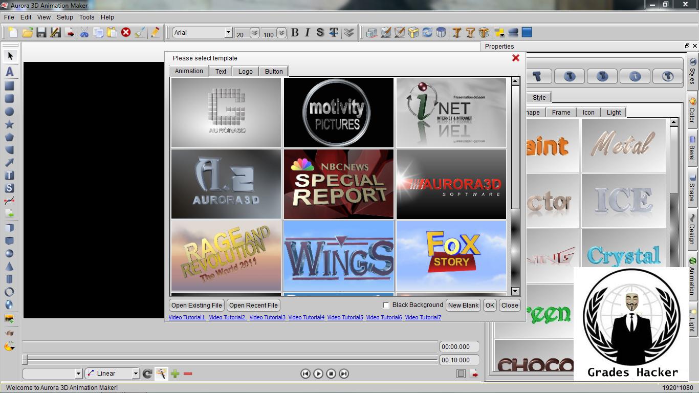 Aurora 3d Animation Maker Colong Software